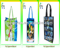 2014 new design laminated pp non woven shopping bag