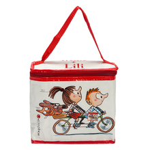 Simple style insulated eco girls lunch bag for office