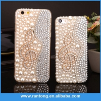 China Guangzhou Wholesale Free Samples diamond PC phone case for iphone
