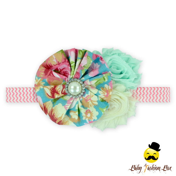 66TQZ247 Yihong Wholesale Hair Accessories Floral Halloween&Easter&Christmas Bulk Fabric Headbands Nylon Stretch Headbands