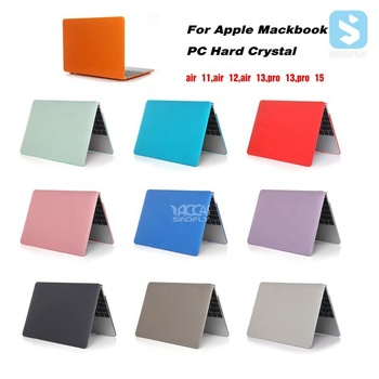 For Apple Macbook Air 12  Plastic Hard Crystal PC Case for Apple Macbook Air 11 12 13 inch