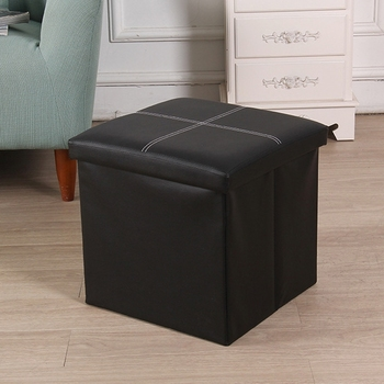 Leder Lagerung Box Kreative Crossline Klapp Sofa Bank