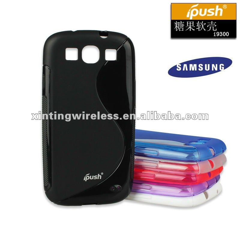 New Arrivals for Samsung Galaxy S3 S Line TPU Gel Skin Phone Case