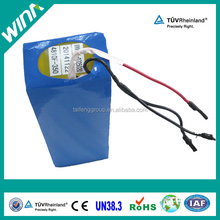 solar energy storage lifepo4 battery 48V with 15AH solar cells
