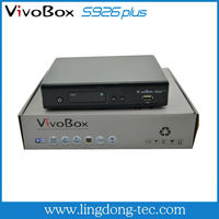 Az box bravissimo twin hd /vivobox s926plus with iks sks free for South America