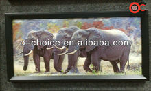 CK-4 Modern Wall Decor 3d Picture oil paintings of elephants