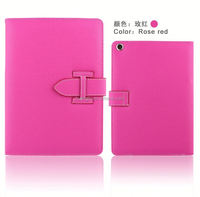OEM BookStyle with Fold totu design dynamic folding stand leather case for ipad mini New coming