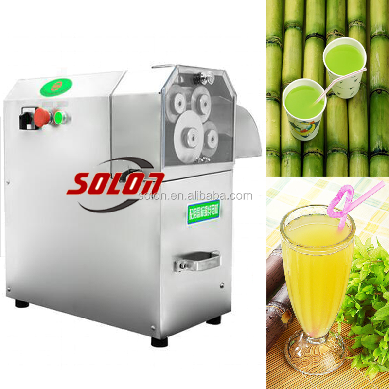 Automatic portable ginger juicer machine new sugarcane machine for sale