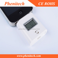 Drive safety digital alcohol tester for mobile phone