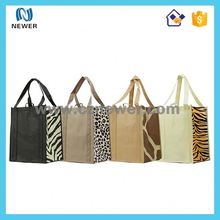 Eco-friendly customized cheap non woven shopping tote bag for supermarket