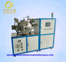 microwave sintering furnace for ceramics silica alumina in argon and hydrogen atmosphere