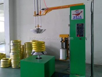 tyre stertch wrapping machine