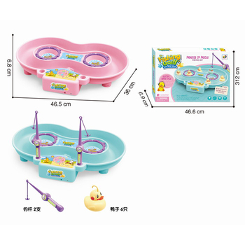 Hot selling children plastic magnet fishing game set toys for gifts