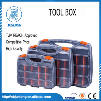 Compartmental Organiser Storage Box for Tools & Small Parts