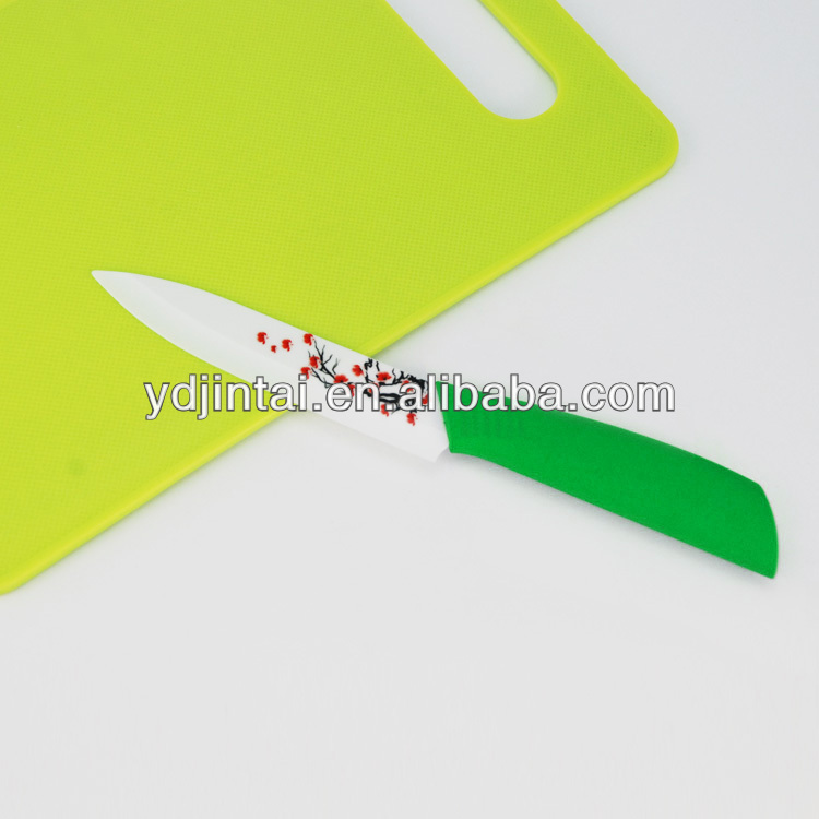 "4"" green original printer ceramic slicer knife"