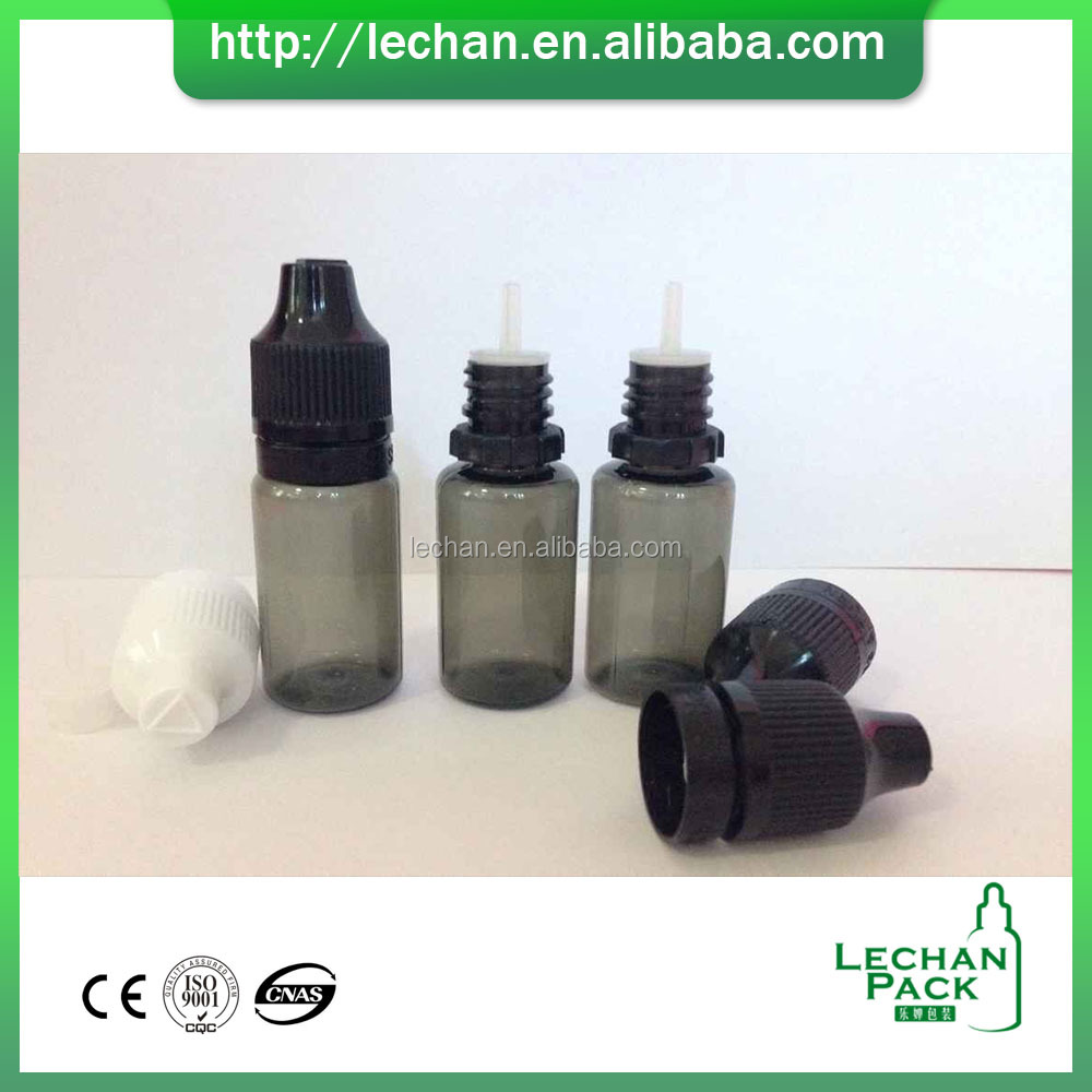 In stock!!! 30ml Black PET Plastic Dropper Bottle For Vape Oil, Nicotine Liquid bottle, tabaco liquid bottle