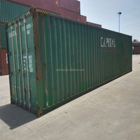 best price 40HC second hand used shipping Container