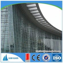 12mm-19mm tempered glass elevator with arch door CE certification