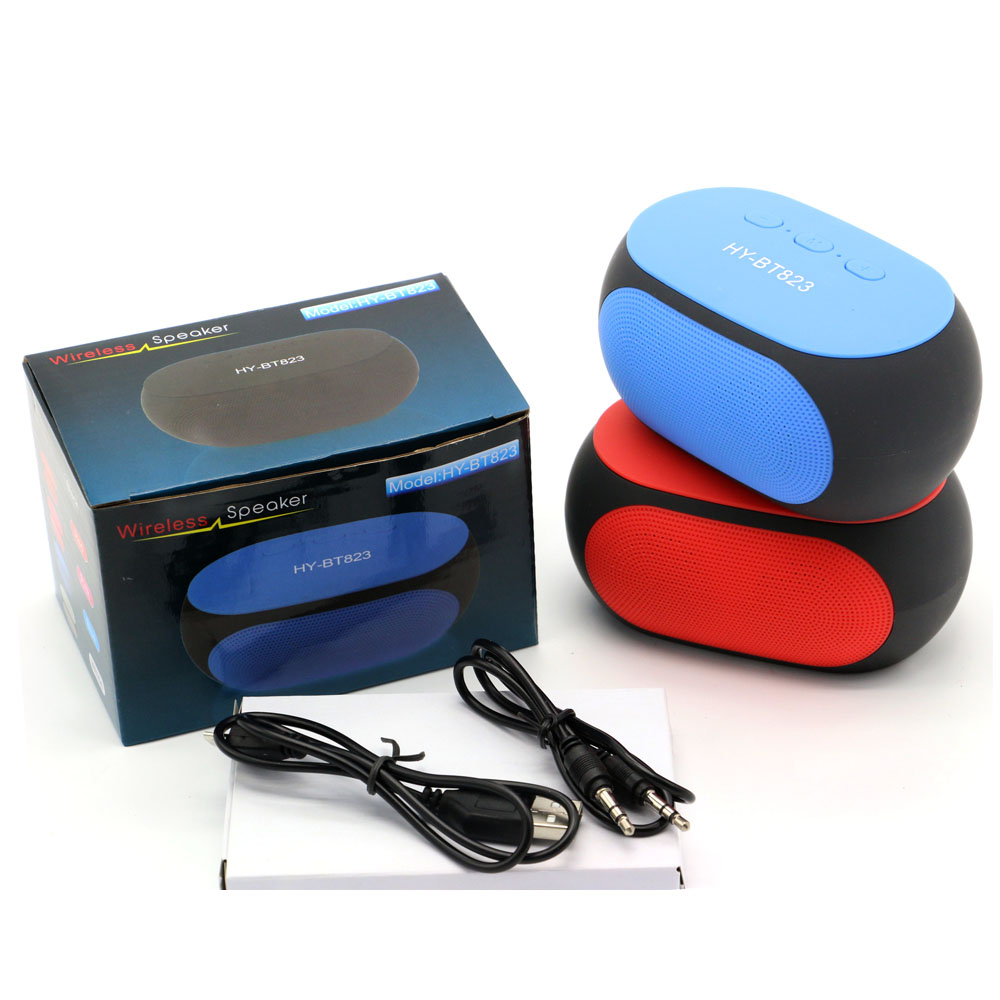 BT823 Super Bass Bluetooth Speaker Portable Wireless Bluetooth Speaker caixa de som for Smartphone PC Laptop