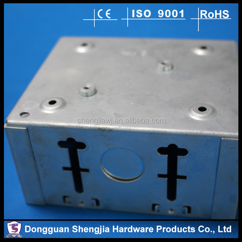 Sheet Metal Stamped Switch Distribution Channel Box Enclosure