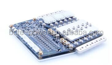 4S PCB board with 60A constant current BMS for lithium battery pack