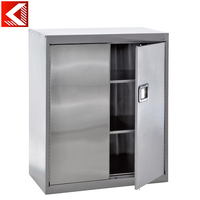 Stainless steel clothes mirror cabinet horizontal filing cabinet