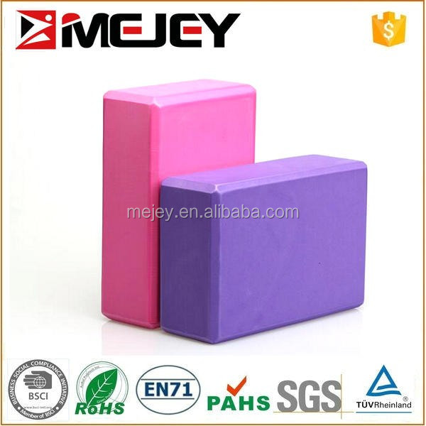 New Style Custom Logo Yoga Brick,High Density EVA Yoga Block