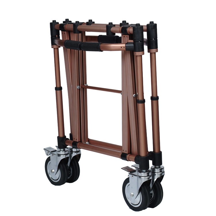 funeral accessories casket collapsible church trolley
