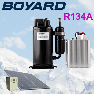 <strong>r134a</strong> zhejiang boyard split <strong>ac</strong> <strong>compressor</strong> prices 48v dc air conditioner <strong>compressor</strong> SVB208Z48 for rv solar air conditioner