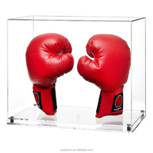 Deluxe Acrylic Boxing Glove Box Display Case for stores