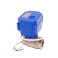On-Off CR01 12 volt 3/4 inch normal closed 3Seconds Electric Valve for water leaakge detection