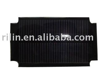 Epoxy-resin encapsulated solar panel