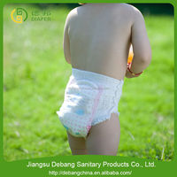 baby diaper in bales, cheap bulk, with soft breahable and dry surface