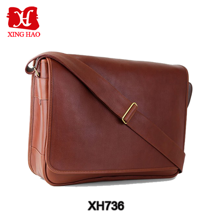 Factory hot sell high quality leather single shoulder bag