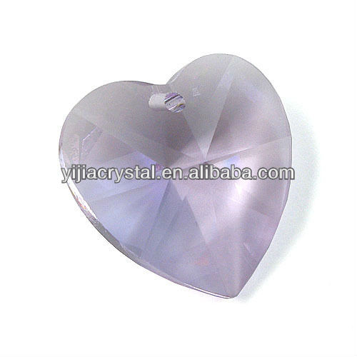 Crystal Heart Shape Diamond Accessories