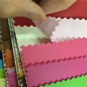 Lychee Patterns Embossed PVC Leather