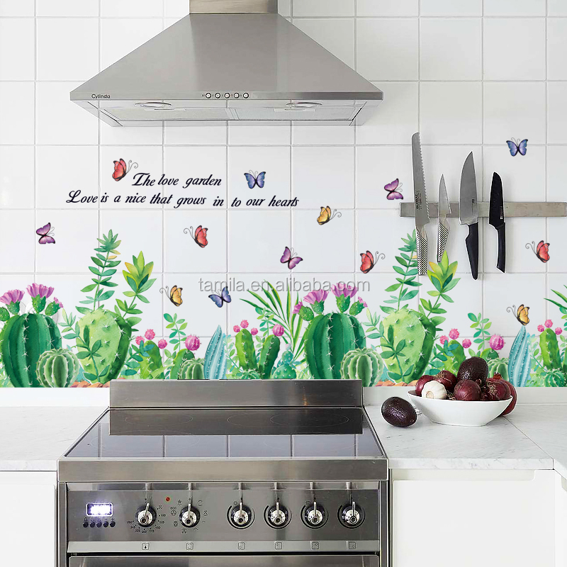 home decoration wall decals spring flower removable wall border stickers flower decorative wall stickers for home room