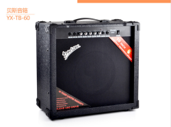 Black bass accessories bass amp high quality 60 watt bass guitar amplifier