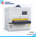Upper top float wide belt sanding machine for production line