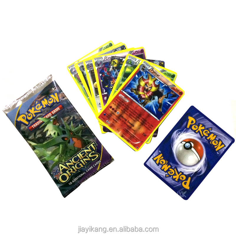 Wholesale Sell Trading Cards Ex Paper Pokemon Cards