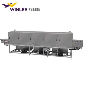 tunnel washing machine formeat plastic crate box washing machine with fast delivery