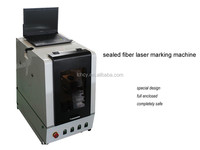 serial number/QR code/Production date/logo sealed security fiber laser metal marking machine