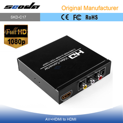 RCA to HDMI converter HD video converter