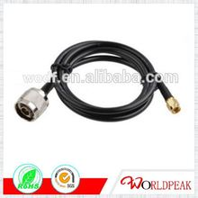 N female to SMA male for rg58 a/u coaxial cable assembly