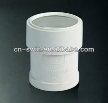 qualified pvc pipe fitting thread expansion joint(50-110MM)