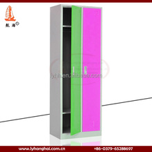 High gloss metal furniture double color stadium used basketball locker