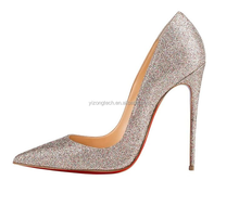 JUSITY 2016 china alibaba lady shoes blingbling 16cm heels for sexy crystal high heel shoes