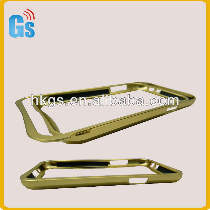 Light Gold Aluminum Metal Frame Bumper Case Cover For Samsung N7100 Galaxy Note 2