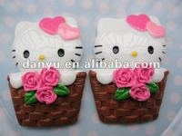 Stock Hello kitty flatback resins