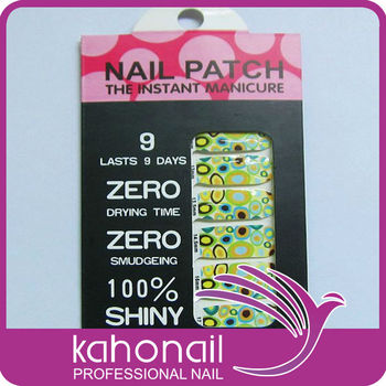 Full Nail Easy to Tear Decorative Nail Foil Nail Sticker